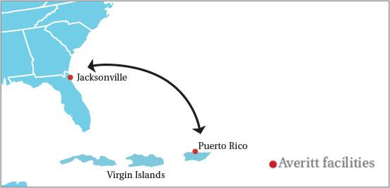 Puerto Rico / Virgin Islands | Averitt Express on